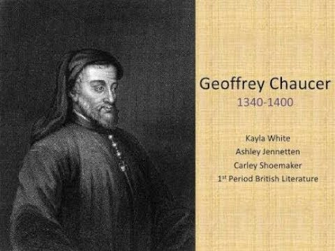 (Hindi)Chaucer his life and his works
