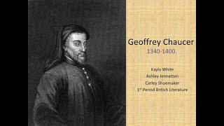 the importance and influence of geoffrey chauncer The canterbury tales (middle english: tales of caunterbury) is a collection of 24 stories that runs to over 17,000 lines written in middle english by geoffrey chaucer between 1387 and 1400.