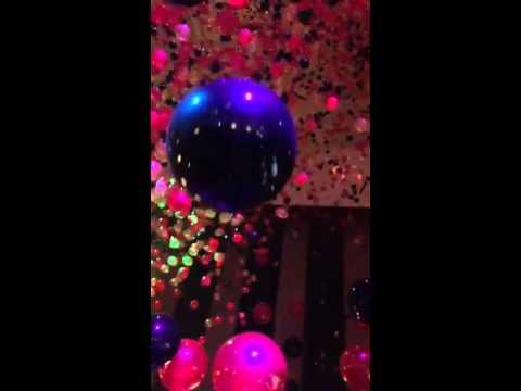 Houston New Years Balloon Drop 2014