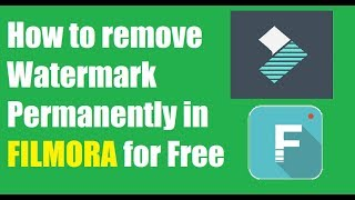 How to Remove Watermark in Filmora Permanently 2018 in HINDI and Get License Key Free - Biker Aman