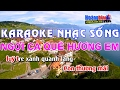 Karaoke Nhạc Sống   NGỢI CA QUÊ HƯƠNG EM   Beat chất lượng cao