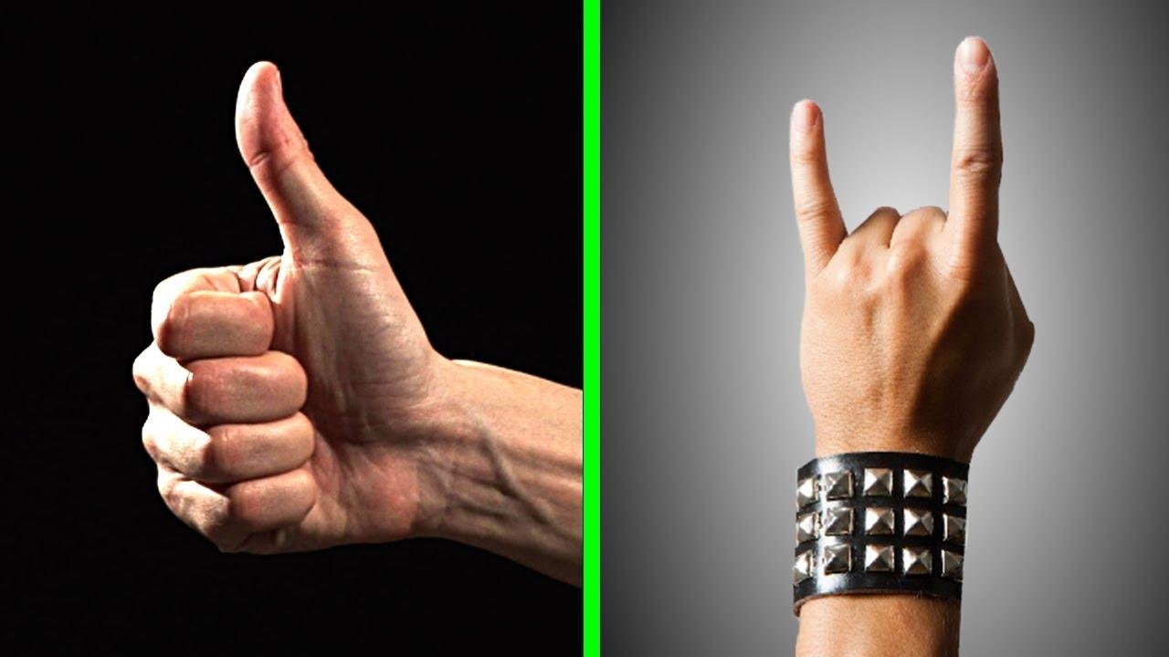 Bedeutung jugend handzeichen Handzeichen bedeutung