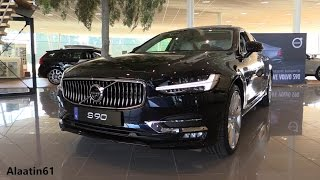 2017 Volvo S90 / Start Up, POV Drive, In Depth Review Interior Exterior
