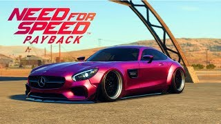 NFS PAYBACK - Mercedes AMG GT Full customization + Air Suspension (Showcase)