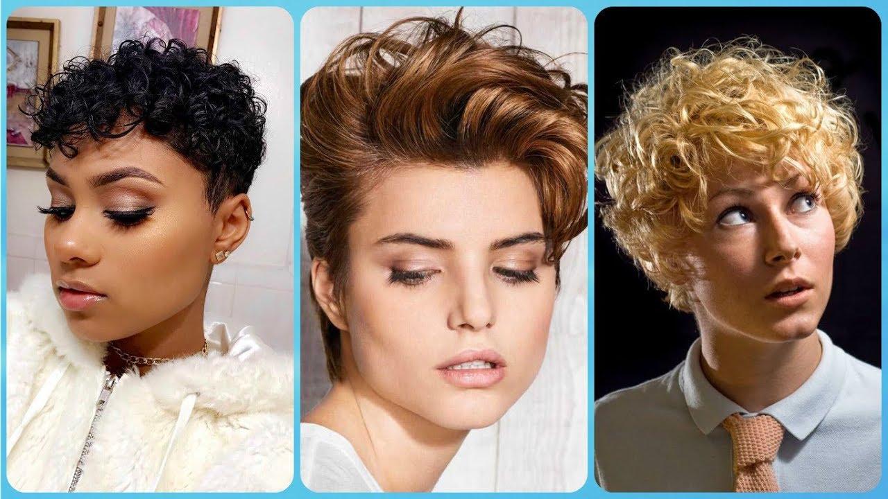 Najmodniejsze Fryzury Damskie Na Krótkie Kręcone Włosy