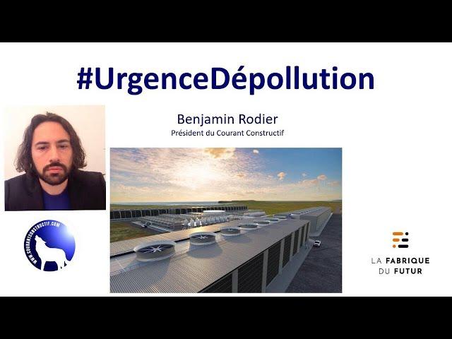 URGENCE DÉPOLLUTION : une conférence de Benjamin Rodier