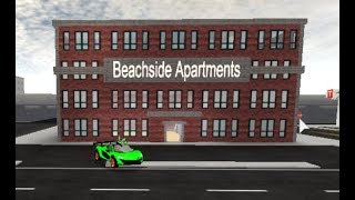 Living a life on a beachside apartment | Roblox Vehicle Simulator