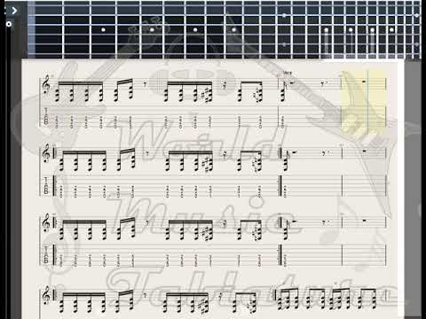 In Extremo   Vollmond GUITAR TAB