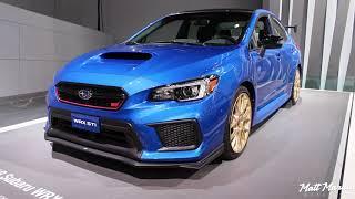 2018 Subaru BRZ tS and WRX STI Type RA - NAIAS 2018