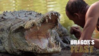 Dragon's Feast - Croc shaman swims with crocodiles | Sneak Peek | MagellanTV