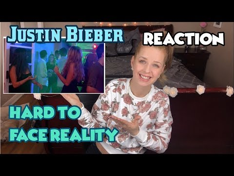 JUSTIN BIEBER HARD TO FACE REALITY reaction video