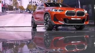 BMW X2 Concept // Париж 2016 // АвтоВести Online