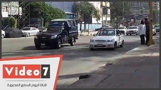 قوات الانتشار السريع تمشط شوارع المهندسين