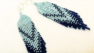 Native American style earrings - handmade earrings