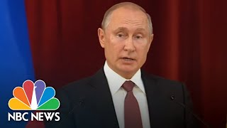 Vladimir Putin Hails 'Successful' President Donald Trump Meeting | NBC News