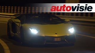 Autovisie TV: Tunnelrun Novitec Lamborghini Aventador met Akrapovic uitlaat