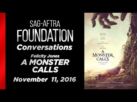 Conversations with Felicity Jones of A MONSTER CALLS