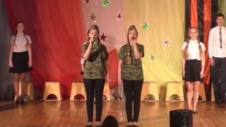 Праздничный концерт 9 мая 2017. с. Благодатное Карасукского района Новосибирской области