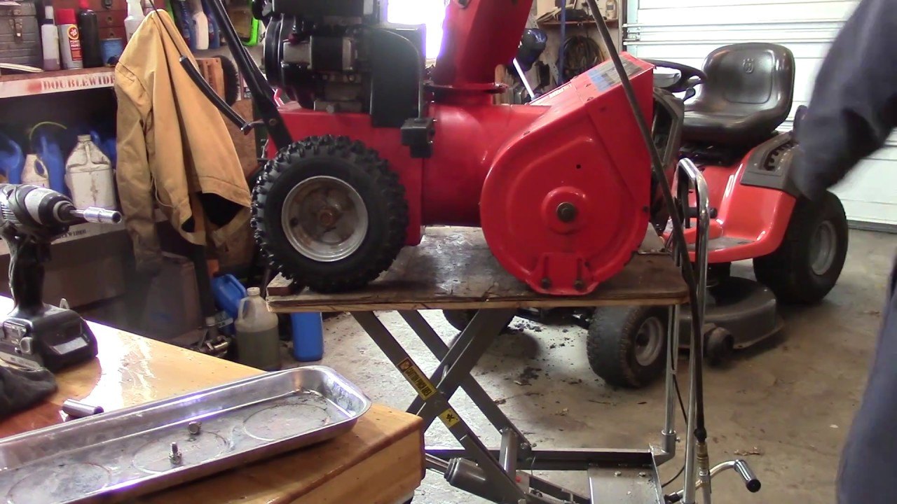 hight resolution of how to add electric start to a snowblower
