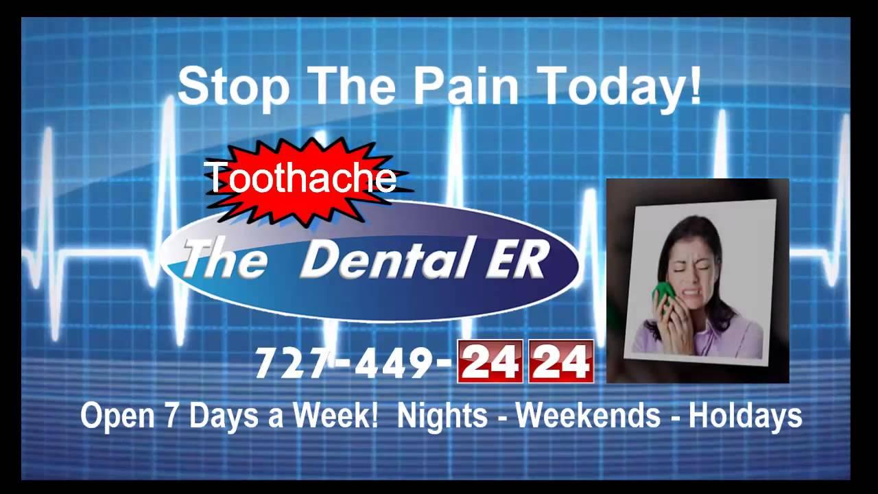 Dental Emergency Room Clearwater, FL 727-449-2424 - YouTube