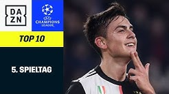 Top 10 Tore 5. Spieltag | UEFA Champions League | DAZN Highlights