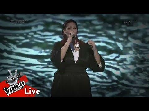 Μαρία Βασιλοπούλου – Όταν πίνει μια γυναίκα | 1ος ημιτελικός | The Voice of Greece