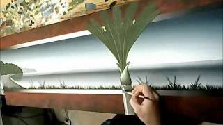 Seascape Art - Time Lapse Acrylic Painting