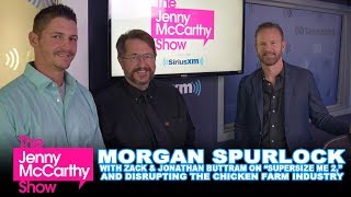 """Morgan Spurlock On """"Supersize Me 2"""" And Disrupting The Chicken Farming Industry"""