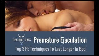 Best Premature Ejaculation Treatments To Last Longer In Bed Australia