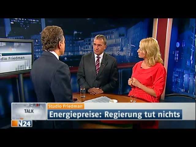 N24 - Studio Friedman Deutschland - sozial ungerecht - 27.09.2012