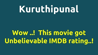 Kuruthipunal |1995 movie |IMDB Rating |Review | Complete report | Story | Cast