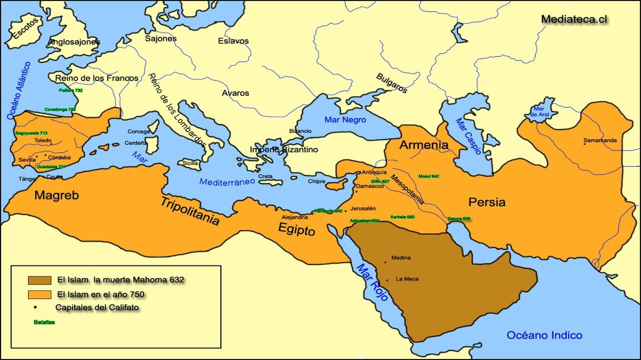 Nacimiento y Expansión del Islam | Video Histórico - YouTube