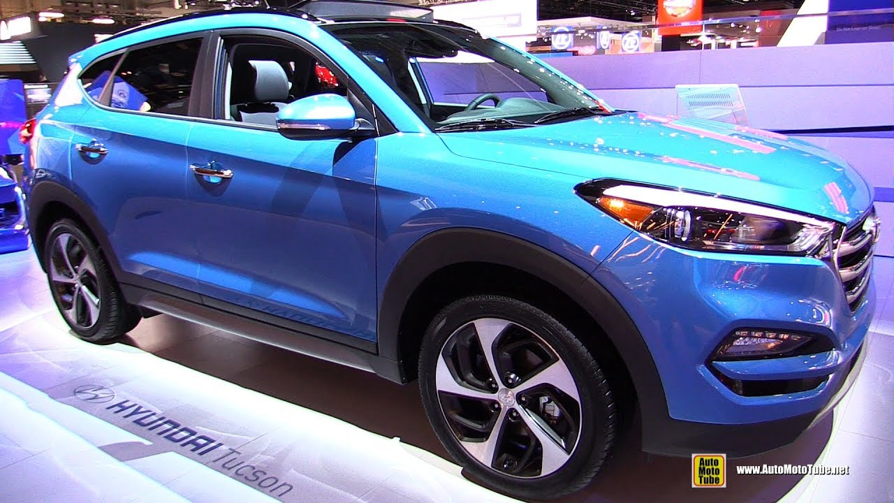 2017 Hyundai Tucson Limited 1 6t Exterior And Interior Walkaround Detroit Auto Show