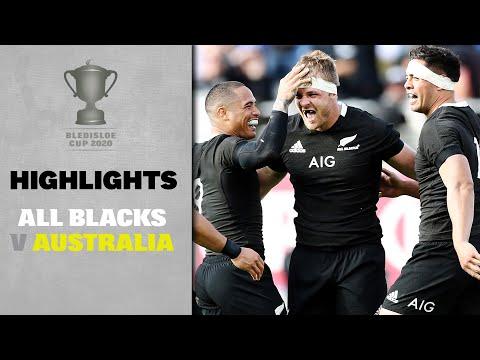 HIGHLIGHTS: All Blacks V Australia (Auckland)