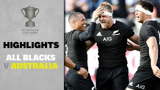 HIGHLIGHTS: All Blacks v Australia (Auckland)