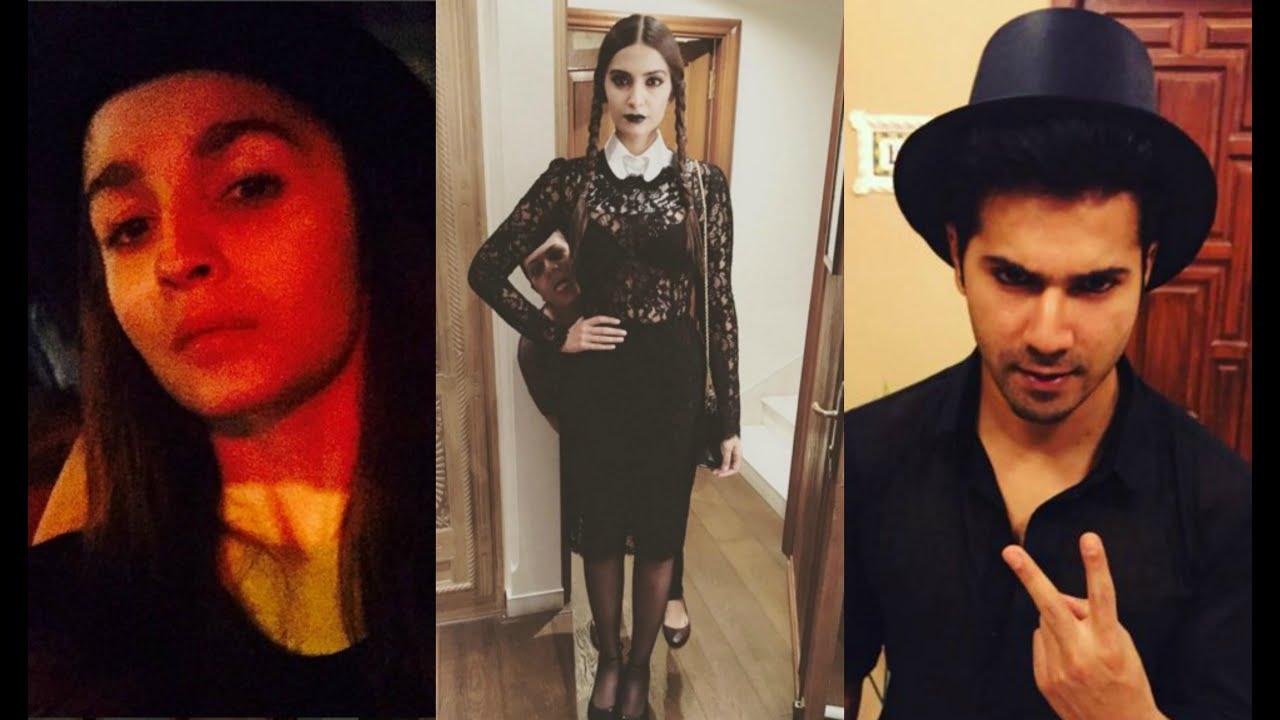 Bollywood Halloween Party - Alia Bhatt   Varun Dhawan   Sonam Kapoor