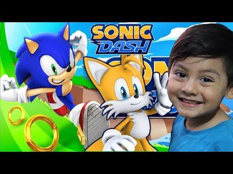 Sonic Dash Gameplay | Sonic y sus Amigos en Español | Juego para niños
