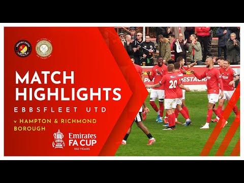Ebbsfleet Hampton & Richmond Goals And Highlights