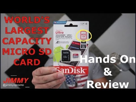 SanDisk 400GB MicroSD Card - Official Product Review [BENCH TESTED]