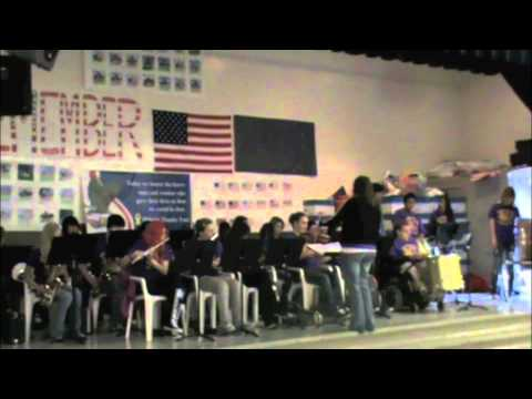 Woodbrook Middle School 8th Grade Band performing Hocus Pocus at Hillside Elementary June 8th, 2012