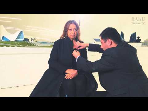 Interview with Zaha Hadid