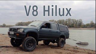 Toyota Hilux свап V8 3UZ на 6-ст АКПП