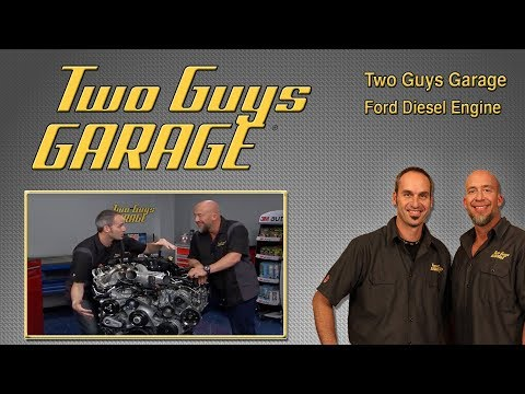 Ford Diesel Engine Breakdown | Two Guys Garage