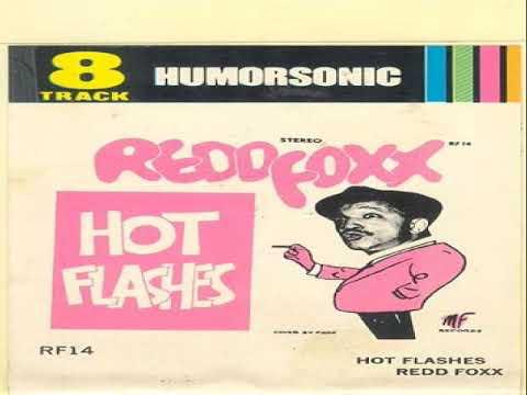 "REDD FOXX  Comedy Album ""Hot Flashes"""