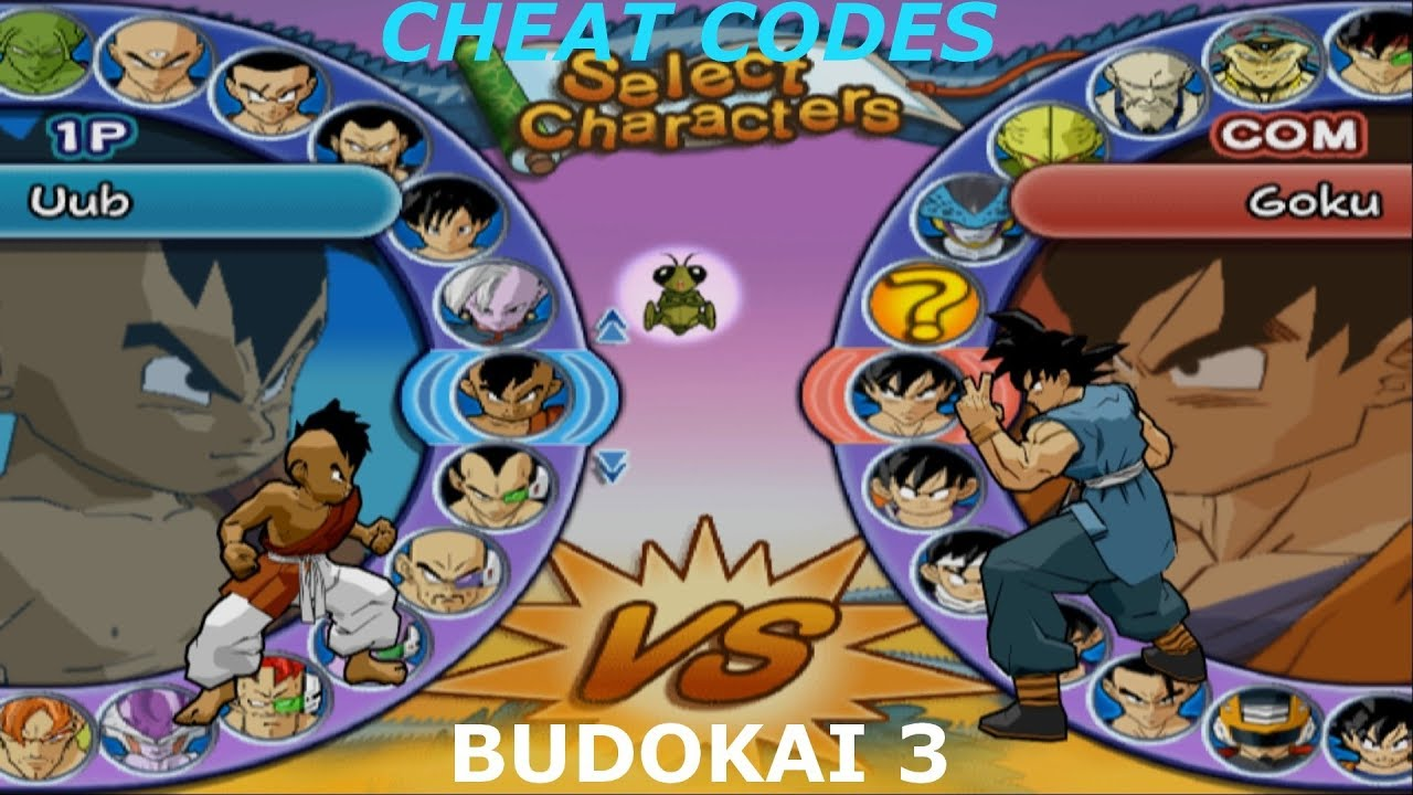 budokai 3 how to unlock all characters
