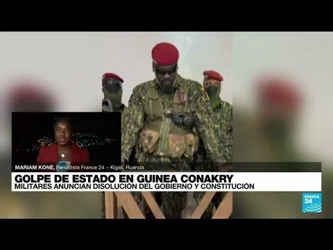 Informe desde Kigali: militares de Guinea anunciaron haber detenido al presidente Alpha Condé