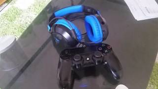 how to setup turtle beach 60p recon with ps4 full quick setup