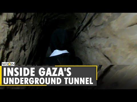 Inside Gaza's underground tunnel