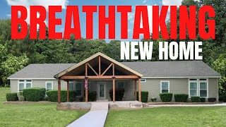 Hold your breath!! This home might take it!(DID MINE) New mobile home tour worth seeing!