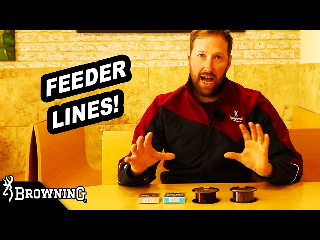 LINES FOR FEEDER FISHING by BROWNING FISHING